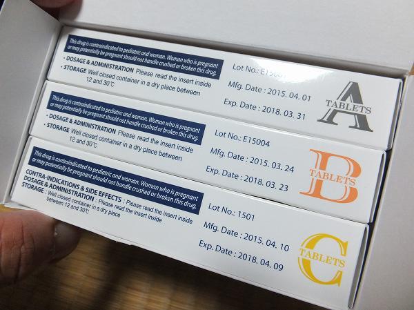 AGAスキンクリニックで処方された飲み薬
