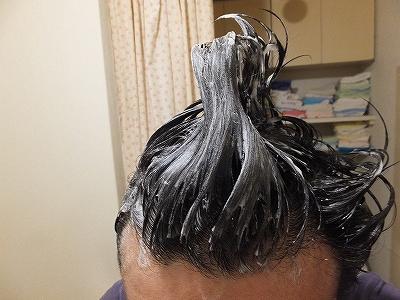アミノ酸系シャンプーウーマu-maで頭を洗います