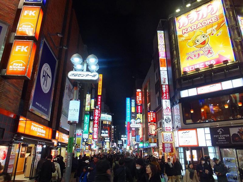 東京渋谷センター街:薄毛ハゲ治療成功し遊びました