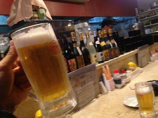 オリオンビールin沖縄那覇のバーにて