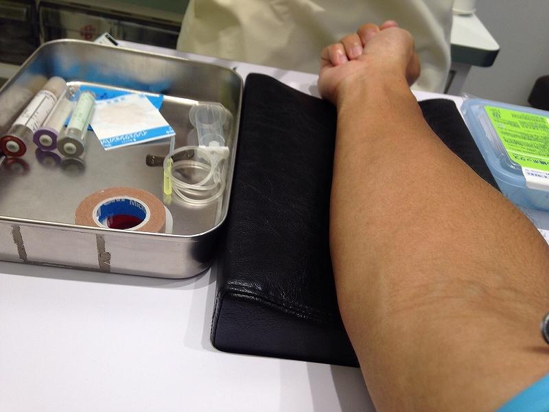メンズヘルスクリニック東京で採血:AGA治療による副作用のチェック
