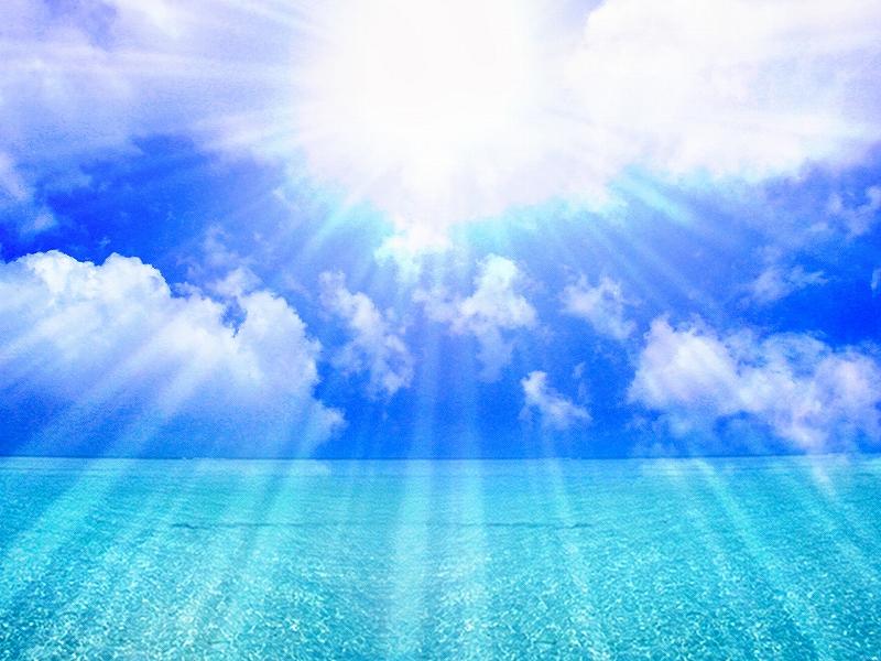 海・紫外線を受けるとハゲる?!