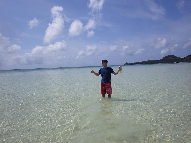 薄毛ハゲを治したので沖縄の海に遊びに行きました!