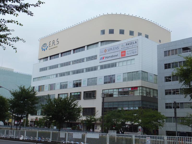 AGAスキンクリニック横浜へ行く道にあるハマボール