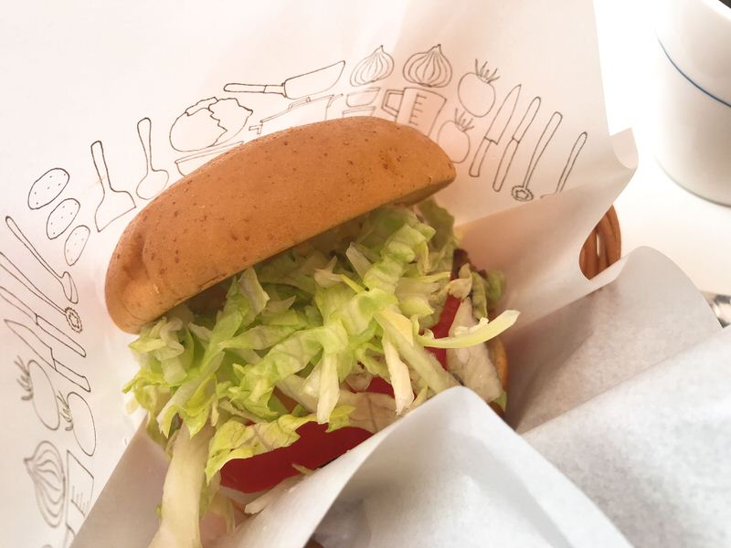 モスバーガー・野菜バーガー