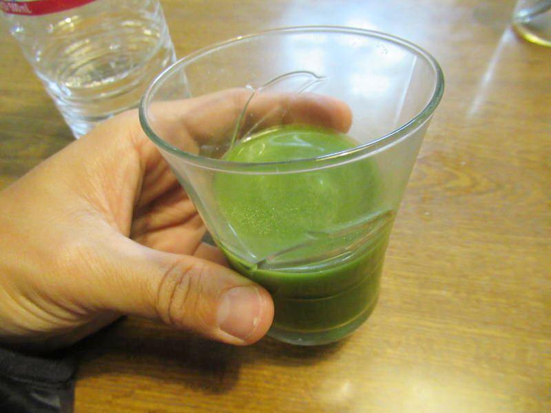 1日分はこんな感じ:スカルプD青汁ノコギリヤシ
