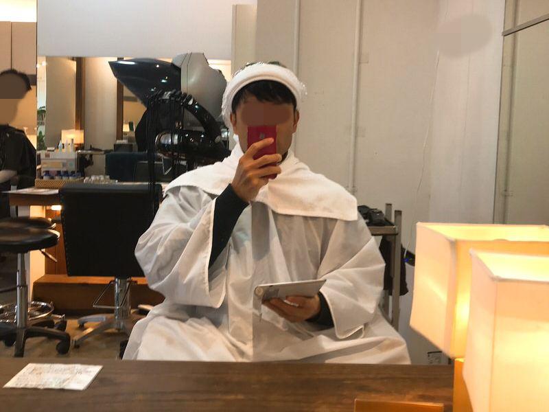 元ハゲシャイ男:美容院で楽しむ